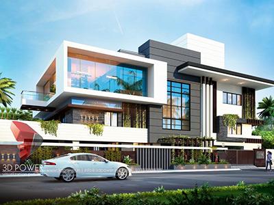 3d-exterior-rendering-top-architectural-rendering-Chandigarh-3d-modeling-rendering-bungalow-night-view