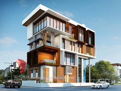 3d-floor-plan-rendering-Chandigarh-bungalow-day-view-3d-home-design-rendering