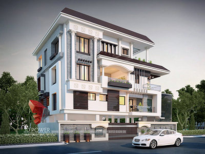 3d-home-elevation-Chandigarh-architectural-designs-for-bungalows-architectural-3d-walkthrough-bungalow-plans