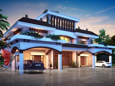 Chandigarh-3d-animation-studio-bungalow-architectural-visualization