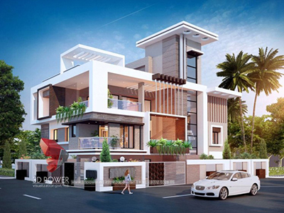 home-elevation-bungalow-designs-3d-architectural-visualisation-Chandigarh-bungalow