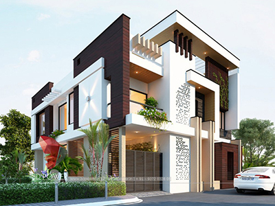 home-elevation-bungalow-design-designs-3d-architectural-visualisation-Ghaziabad-bungalow-design