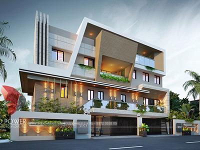 3d-exterior-rendering-Kota-bungalow-design-lavish-bungalow-design-architectural-3d-modeling-service