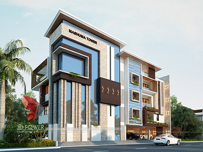 animation-company-Lucknow-3d-exterior-rendering-services-bungalow-design-day-view