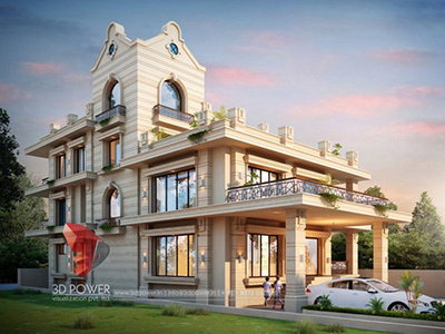 New-Delhi-walkthrough-services-3d-modeling-and-rendering-modern-bungalow-design-rendering-3d-animation-studios