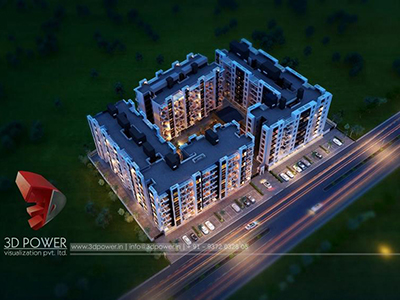 3d-elevation-visualization-3d-Visualization-apartment-buildings-birds-eye-view-night-view