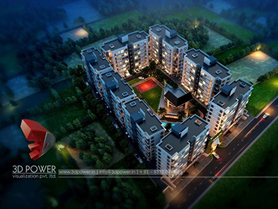 3d-power-3d-real-estate-3d-walkthrough-animation-services-townships-night-view-birds-eye-view