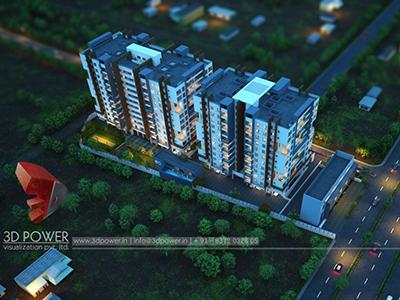 Bird-eye-township-apartment-virtual-walk-through3d-real-estate-Project-rendering-Architectural-3d-walkthrough
