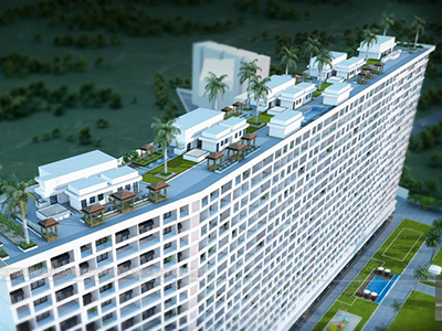 Highrise-apartments-top-view-multiple-flats-3d-design3d-model-visualization-architectural-visualization-3d-walkthrough-company