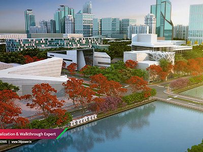 apartment-rendering-bird-eye-view-water-amenties-smart-city-3d-architectural-design