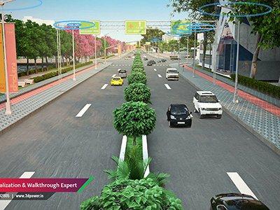 aproach-roadway-3d-rendering-3d-power-rendering-3d-view