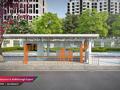 bus-stop-rendering-services-3d-animation-visualization-studio-apartment-desing