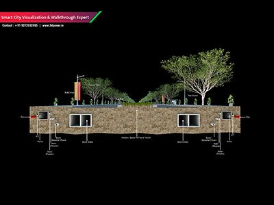 front-view-best-3d-basic-visualization-studio-walktrhough-animation