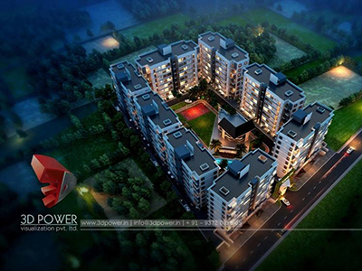 3d-real-estate-3d-walkthrough-animation-services-townships-night-view-birds-eye-view