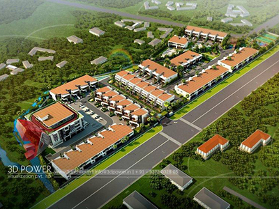 3d-visualization-service-3d-apartment-rendering-township-birds-eye-view