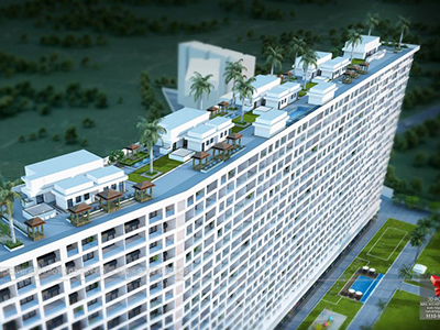 Highrise-apartments-top-view-multiple-flats-3d-design3d-model-visualization-architectural-visualization-3d-walkthrough-company