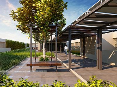 parking-3d-elevation-walking-girl-3d-view-architectural-flythrugh-real-estate-3d-walkthrough-animation-company
