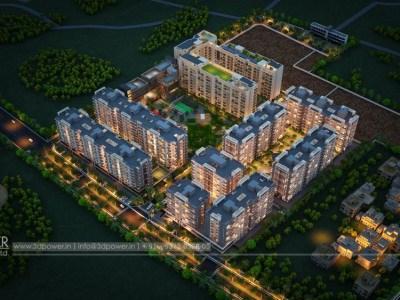 Top-view-township-beutiful-elevation-3d-design-apartment-virtual-walk-through