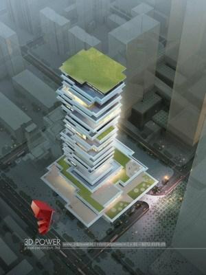 apartment-3d-apartment-rendering-3d-model-architecture-architectural-services-high-rise-apartment-birds-view