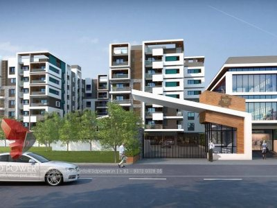 3d-apartment-rendering-Auroville-services-wakthrough-day-view-architectural-visualization-elevation-rendering