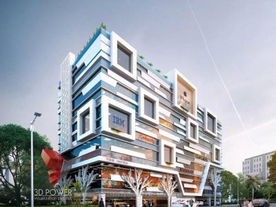commercial-3d-architectural-visualization-architectural-design- Puducherry-3d- architectural -rendering
