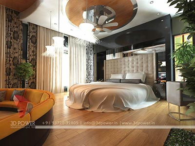 Bedroom 3D Design 3d interior design & rendering services | bungalow & home interior