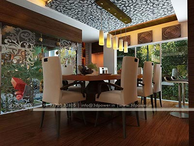 dining room 3d interior