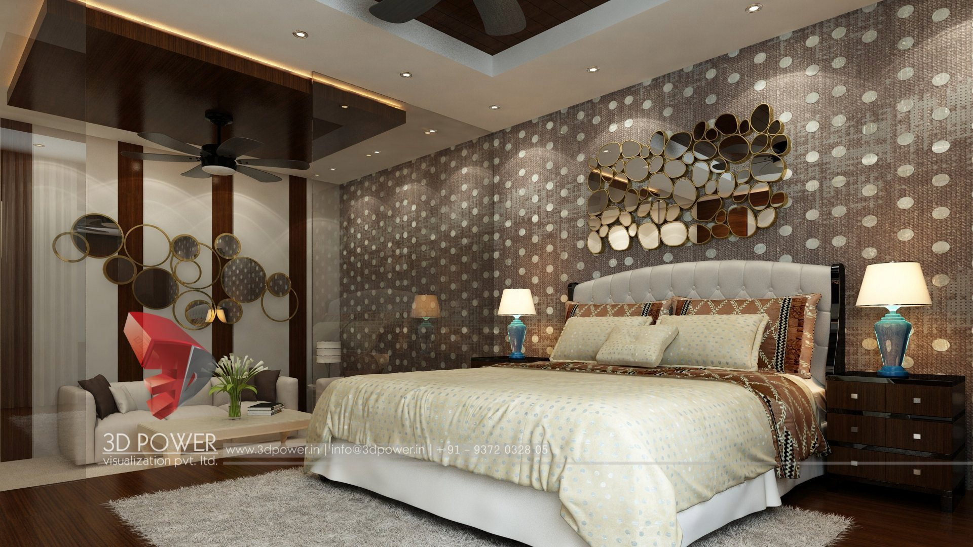 3d Animation Company Bedroom Interior Design ...
