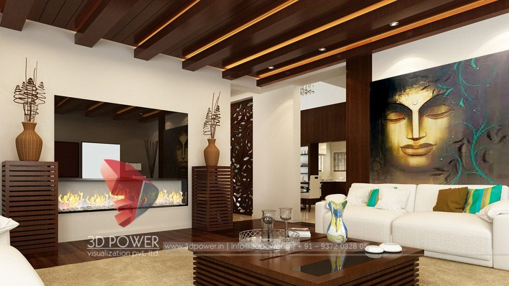 ... 3d Animation Rendering Living Room Interior Design ...
