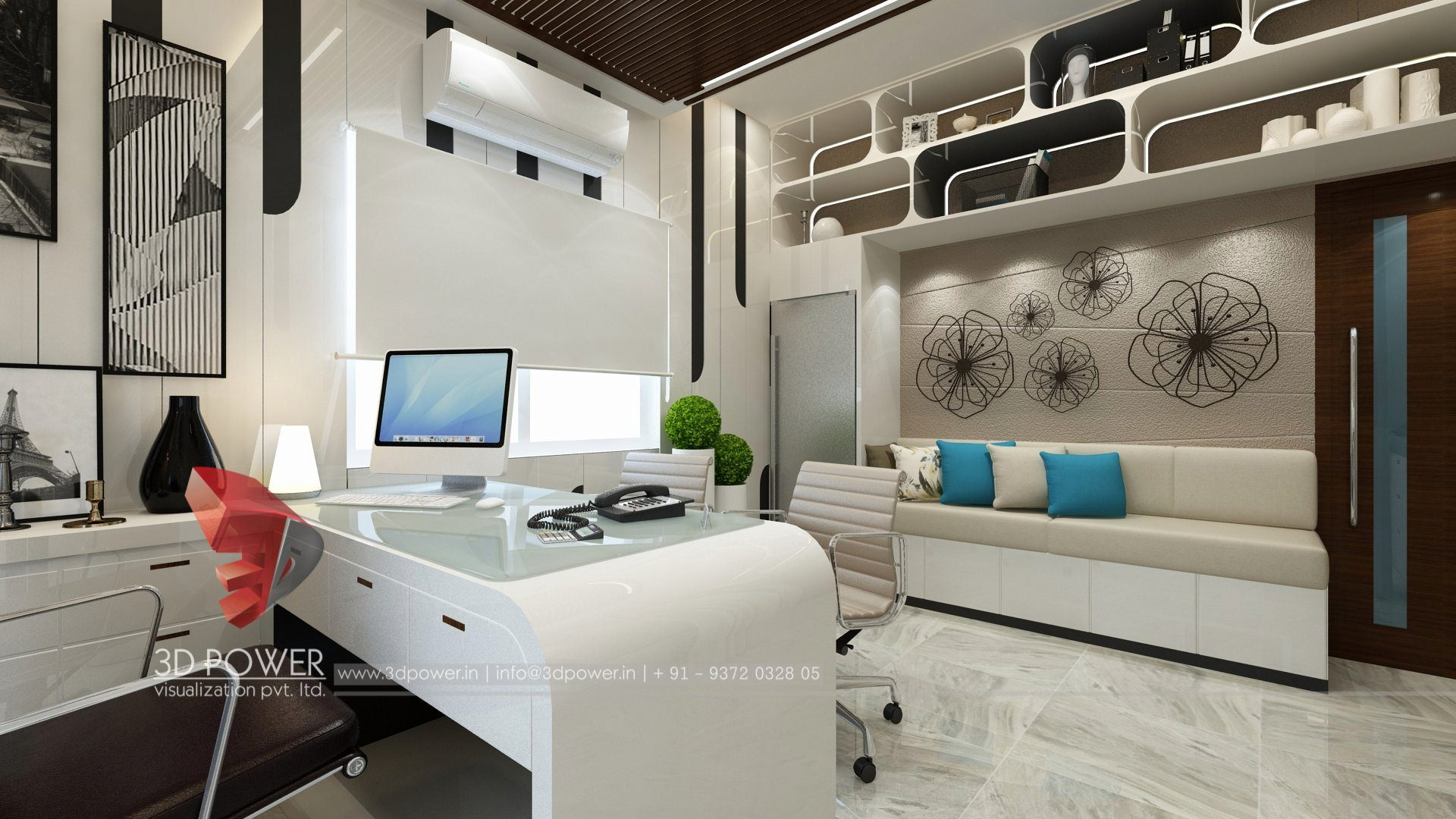 3d architectural design studio office interior design - Architectural Design Interior