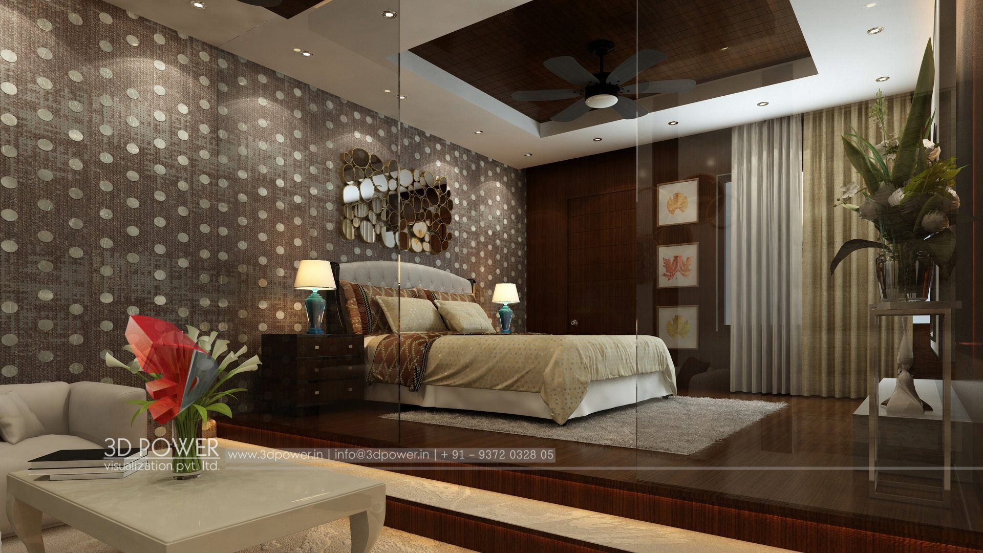 ... 3d Designing Services Bedroom Interior Design ...