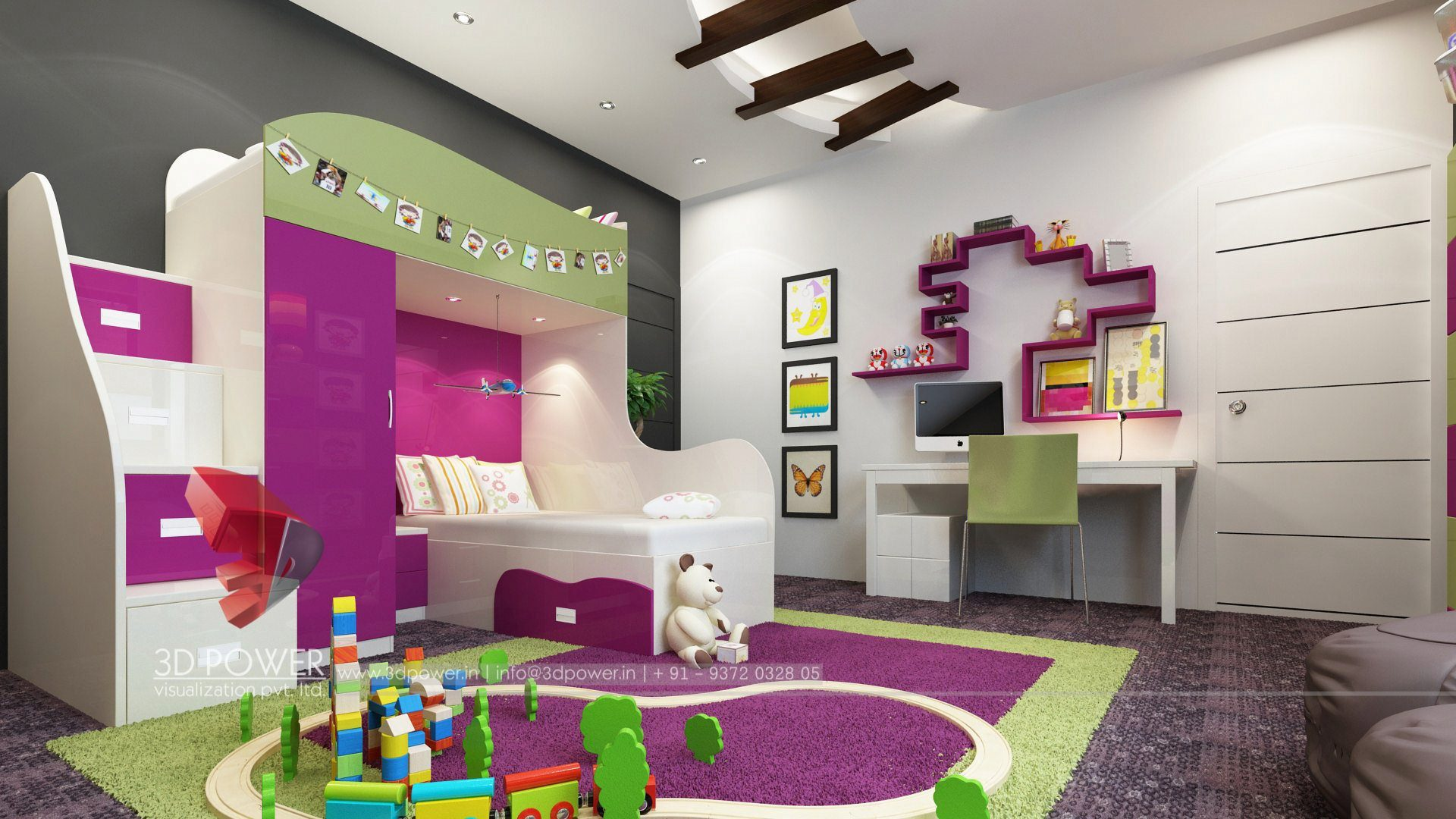 ... 3d Designing Services Interior Design Children Room ...