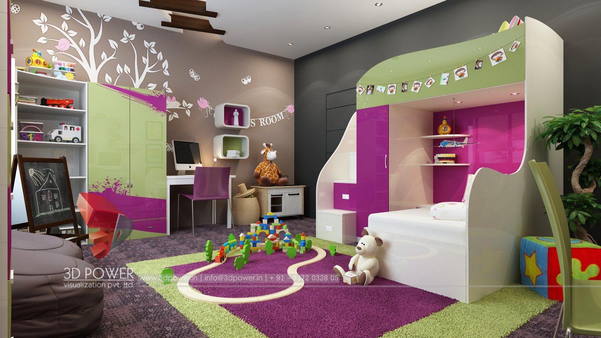 3D Interior Design & Rendering Services | Bungalow & Home Interior ...