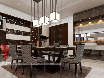 ... 3d Architectural Rendering Dining Room Interior Design ...