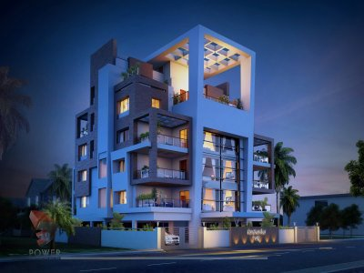 architectural 3d rendering apartment