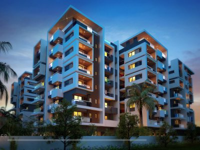 Apartment Building Elevation apartment elevation designing | 3d architectural rendering