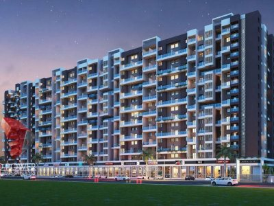 3d-architectural-design-studio-apartment-night-view
