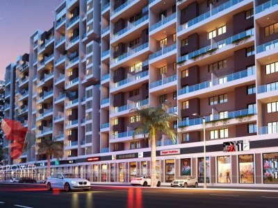 3d-architectural-outsourcing-company-apartment-evening-view