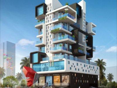 exterior-design-rendering-apartment-night-view