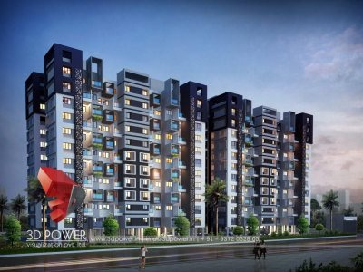top-architectural-rendering-services-apartment-evening-view