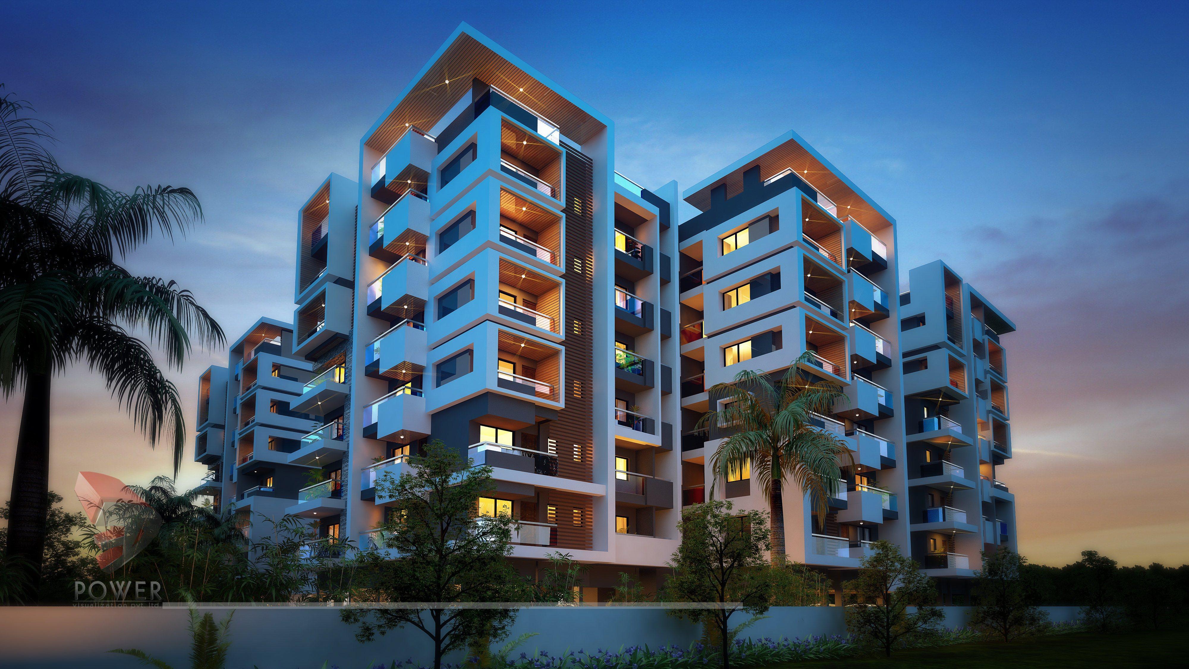 Architectural Apartment Rendering | 3D Apartment Design | 3D Power