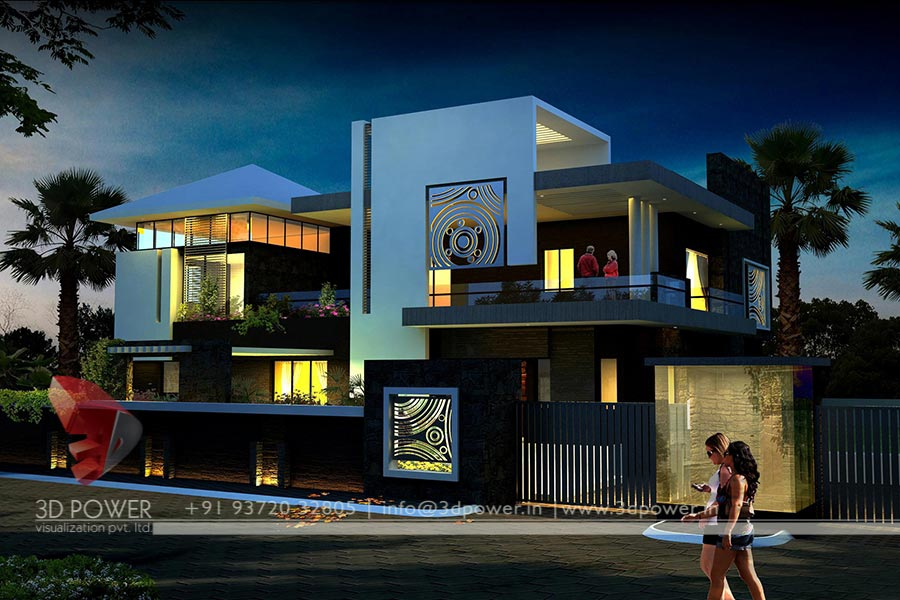 New Home Designs Latest Modern Homes Ultra Modern: Architectural Visualization
