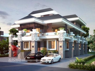 3d architectural outsourcing company bungalow day view slopping roof bungalow desings from india indian traditional house bungalow home designs small bungalow designs kerla 3d