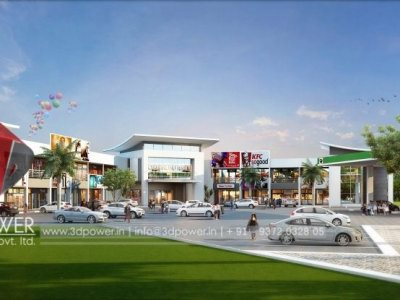 3d designing services architectural visualization day view mall shopping mall views africa rendering services uae rendering services uk rednering services outsource to india