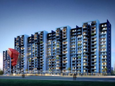 architectural 3d modeling services architectural visualization night view latest architectural concept on apartment highrise visualization services for apartemnt firm in india