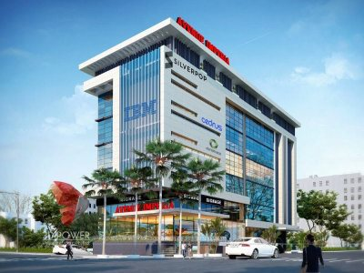 architectural visualization 3d visualization 3d power latest work new work by 3d power new modern designs of offices showrooms 3d visualization services frim from india