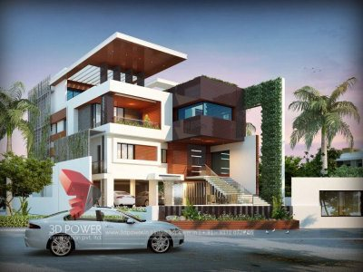 architectural 3d modeling services bungalow day view rendering visualization walkthrough architecture awsome designs new designs
