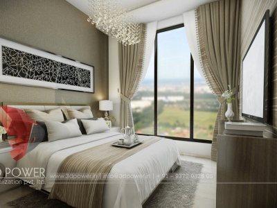 3d small aprtment interior 3d walkthrough for apartemnt 3d visualization rednering services 3d bed room interior 3d bedroom views rendering