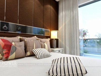 aprtemnt bedroom designs visulization day view rednering services 3d view 3d interior designs 3d service provider uae uk africa