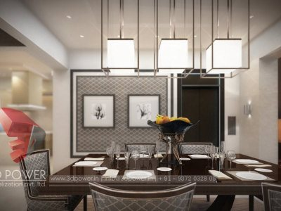 dinning 3d dinning africa bungalow interior apartemtn interior view elevations phots real images new real images 3d view 3d firm india